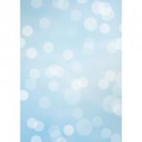 Westcott X-Drop Φόντο Βινυλίου Subtle Bokeh Μπλέ 1.52m x 2.13m