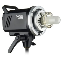 Godox MS200 – Manual Studio Flash 200Ws με ενσωματωμένη ραδιοσυχνότητα