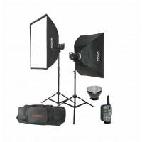Godox MS300E-KIT - Manual Studio Flash Kit με 2x300Ws με ενσωματωμένη ραδιοσυχνότητα