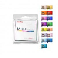 Godox SA11C - Σετ 30 χρωματικών φίλτρων για Godox S30