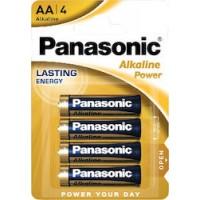 Panasonic LR6APB/4BP Αλκαλικές μπαταρίες ΑΑ  Αλκαλική μπαταρία (AA)