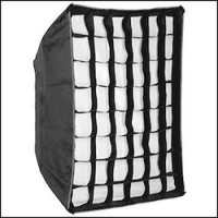Godox Softbox Bowens Mount,Aluminum Ring Adaptor με Grid 60x90cm.