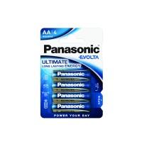 Panasonic LR6EGE/4BP Αλκαλικές μπαταρίες ΑA Evolta