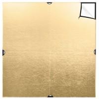 Westcott 1993 – Scrim Jim Cine 2-in-1 Gold/White Bounce Fabric 2.4 x 2.4m (8 x 8′)