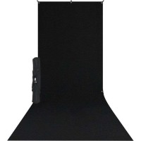 Westcott 578SK – X-Drop Υφασμάτινο Μαύρο Φόντο 1.60 x 3.70m Kit με X-Drop Stand