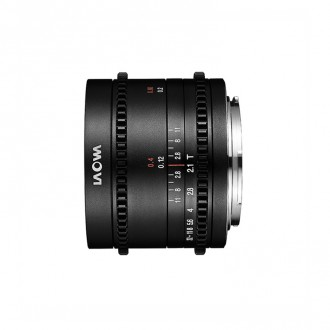 Laowa VE7521MFTC – 7.5mm Cine T/2,1 MFT ZERO-D Φακός MFT