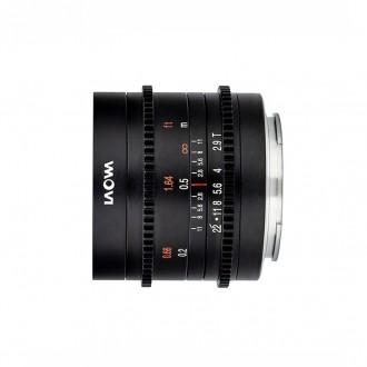 Laowa VE929SEC – 9mm T2.9 Zero-D Cine Sony APS-C E-mount Φακός