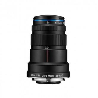 Laowa VE-2528N – 25mm f/2,8 Ultra Macro X5 Manual Φακός για Nikon F