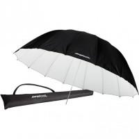 Westcott - Παραβολική ομπρέλα ανάκλασης 220cm (άσπρη/μαύρη)