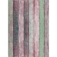 Westcott X-Drop 5' x 7' Rose Pastels Rustic Wood Matte Vinyl Backdrop