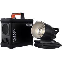 Godox AD1200PRO Kit – TTL 1200ws Studio Flash Kit με εξωτερική μπαταρία λιθίου και ραδιοσυχνότητα 2.4GHz