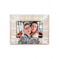 Κορνίζα ξύλινη sisters 10x15