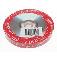 Ridata DVD-R, 10 τεμάχια Shrink