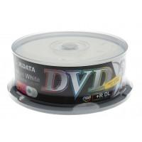 Ridata DVD+R Dual Layer Εκτυπώσιμα, 25 τεμάχια Cakebox