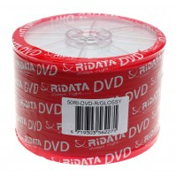 Ridata DVD-R Εκτυπώσιμα Glossy, 50 τεμάχια Shrink