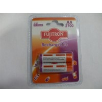 FUJITRON επαναφορτιζόμενες μπαταρίες AA 2700