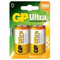 GP Ultra αλκαλικές μπαταρίες D - LR20