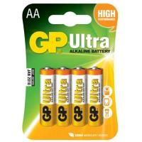 GP Ultra αλκαλικές μπαταρίες AA - LR06