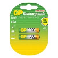 GP επαναφορτιζόμενες μπαταρίες AAA 1000 series NiMh 1.2V