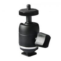 E-IMAGE A08 - Ball κεφαλή µε Hot shoe adapter